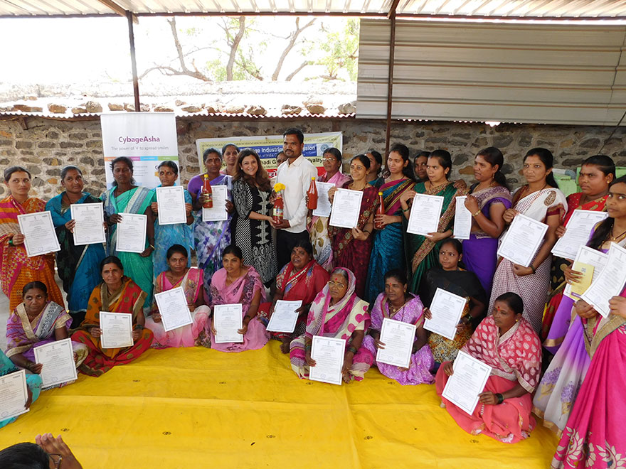 Women at Pingori acquire new skills