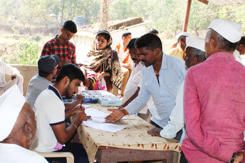 Eye Check-up Camp at Mhalawadi and Karnawadi Villages